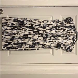 French Connection black and white dress size 8